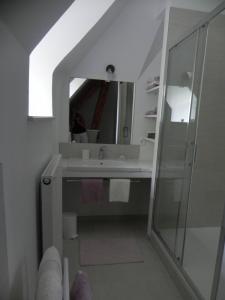 Chambre Lilas / Salle de bains